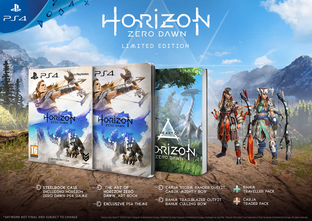 Horizon: Zero Dawn Limited Edition
