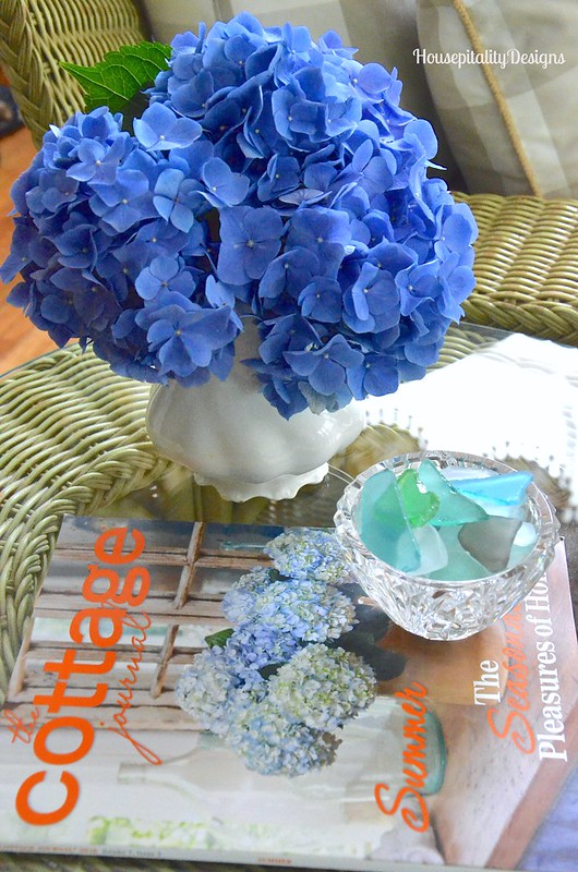 Hydrangeas/Ironstone - Housepitality Designs