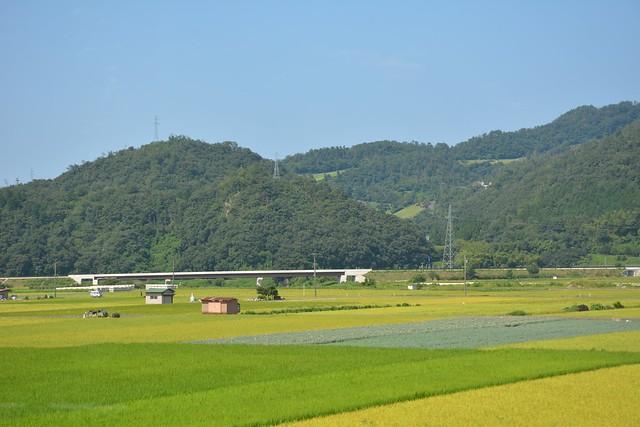 若桜鉄道の風景