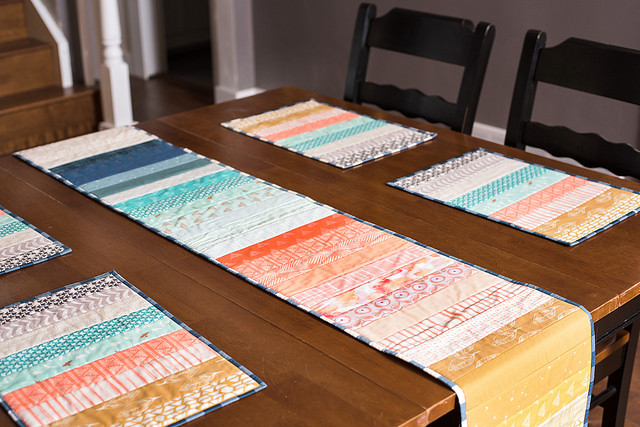 Ombré Table Runner