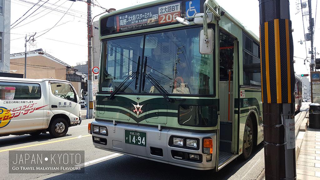 kiyomizu-dera bus