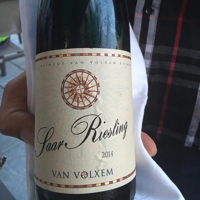 Van Volxem @van_volxem Saar Riesling - perfekt zu Pasta und Loup de Mer! @la_boheme_schwabing