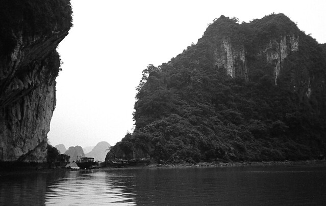 Marooned Boat in Halong Bay