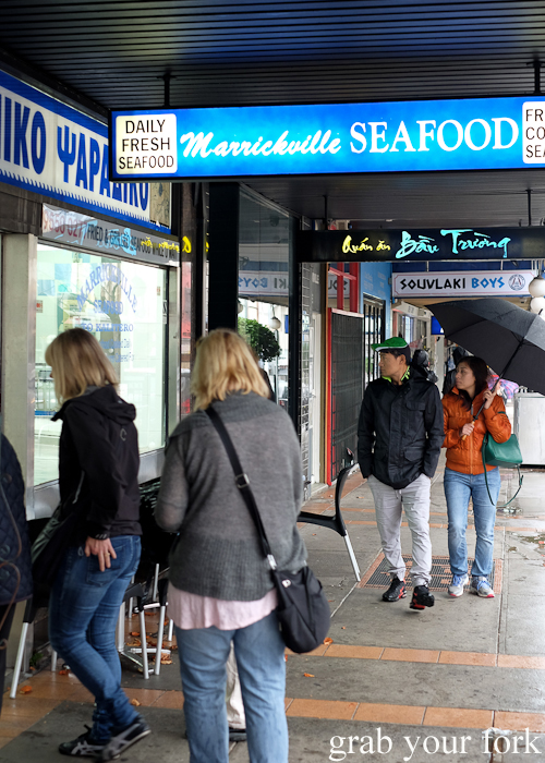 Visiting Marrickville Seafood during the Community Kouzina Marrickville Food Tour for Open Marrickville