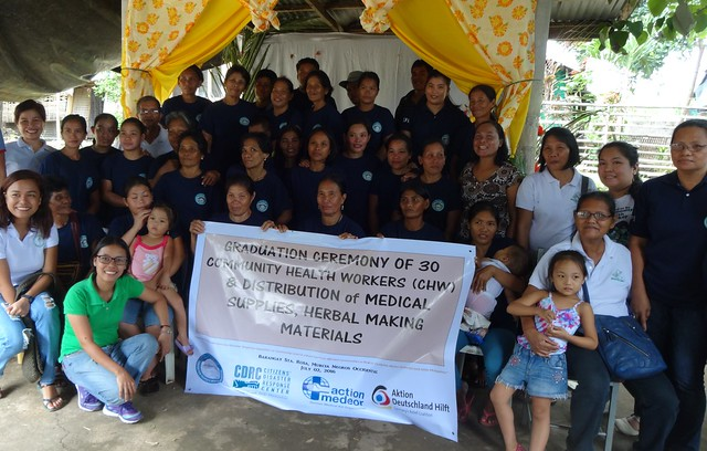Commencement Exercises of CHWs Trained Under action medeor Project