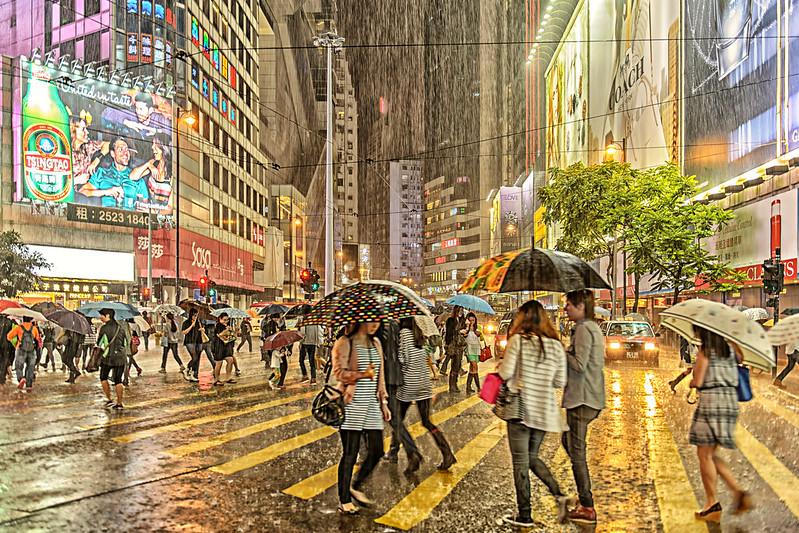 Rainy Hong Kong image: JohnSL Flickr CC