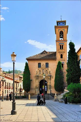 Granada iglesia de san gil y santa ana 2 2 plaza nueva - Santa ana granada ...