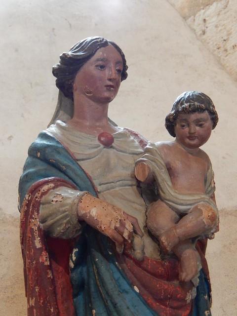 La Vierge polychrome