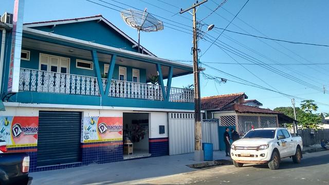 Operação da Gaeco em Oriximiná. Casa do vice