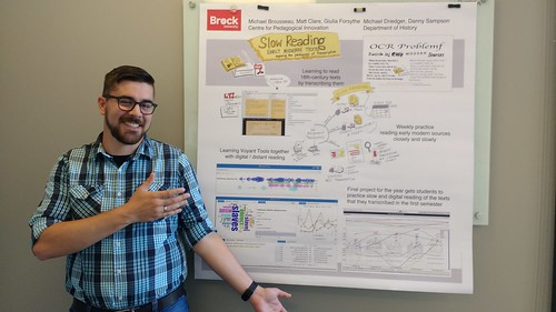 This year I can't make it to #STLHE16 but Mike and our poster will be!