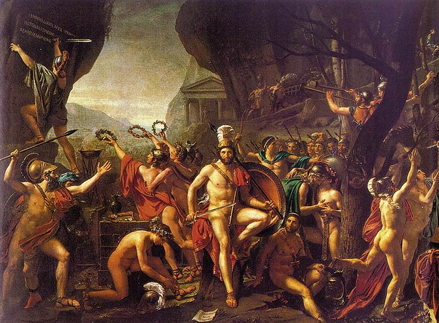 spartans at thermopylae