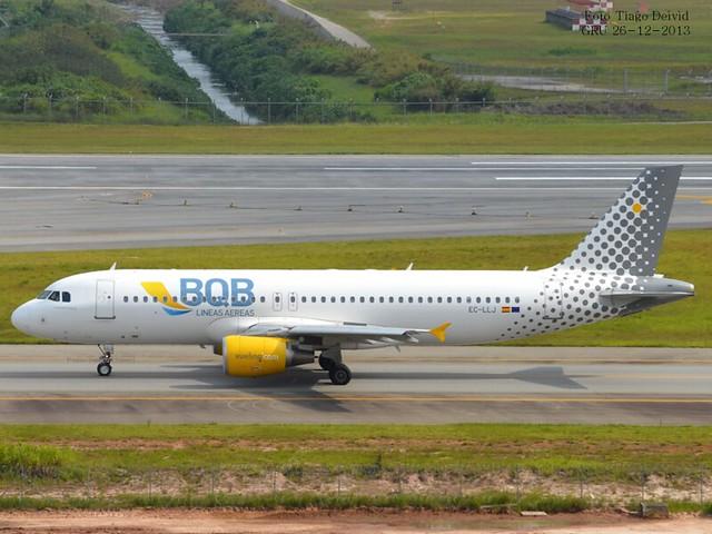 EC-LLJ Airbus A320-214  BQB Lineas Aereas