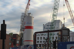 Tottenham Court Road building site