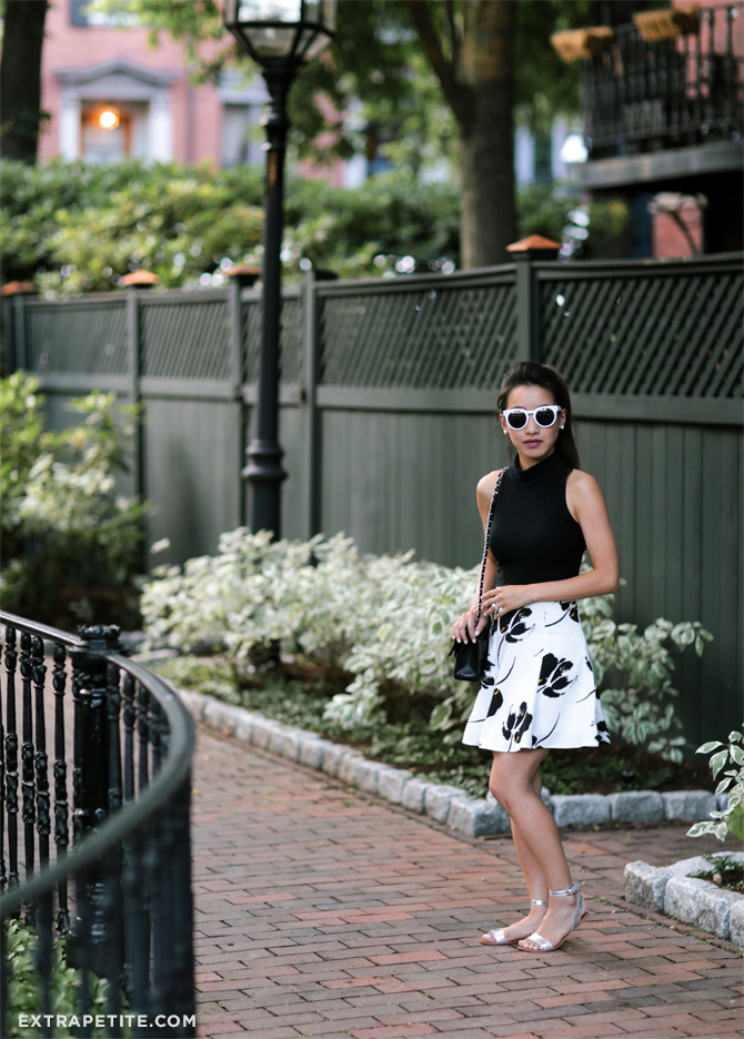 white sunglasses boston summer fashion