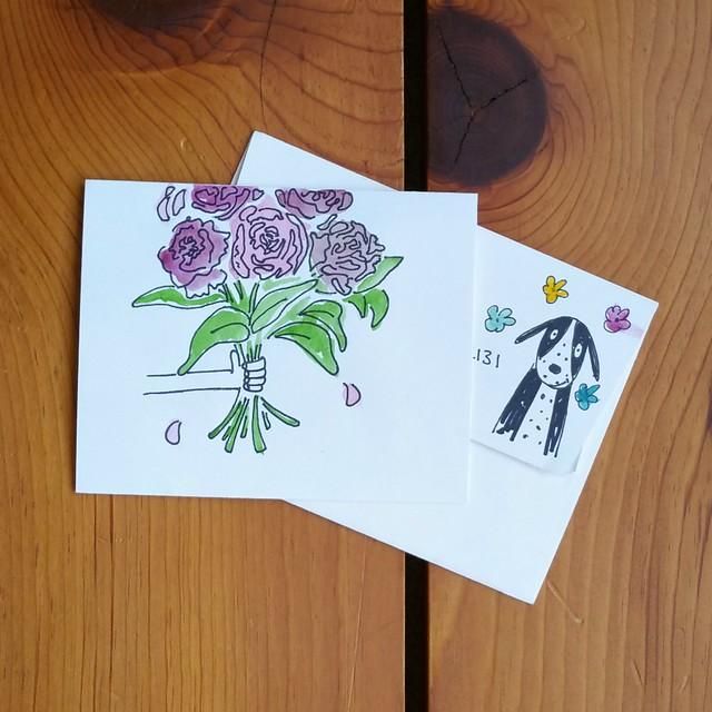 Pretty Postal Floral Swap 2016 - Received   shirley shirley bo birley Blog