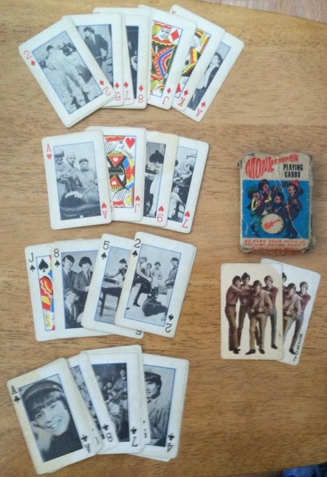 monkees_playingcards1