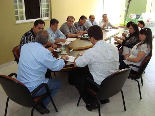 Deputado Diego Andrade se reúne com representantes da área de comércio exterior no CCCMG