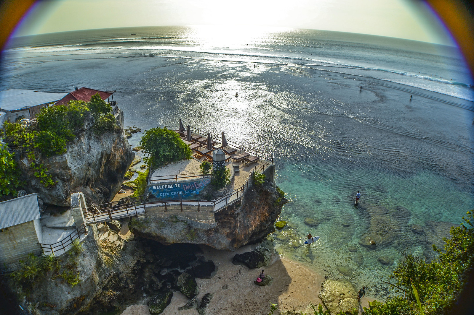 Blue Point Beach, Suluban - Uluwatu, Bali