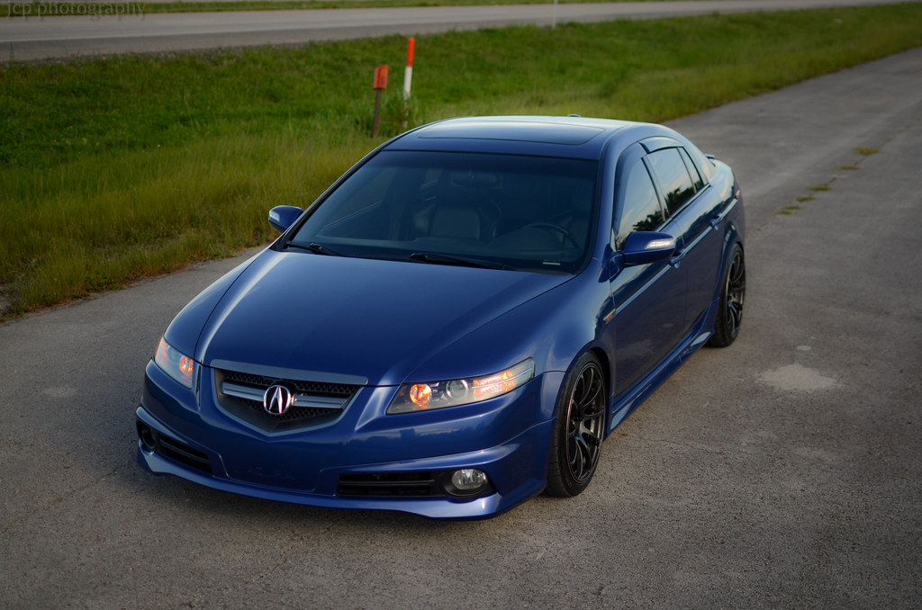 SOLD 2007 Kinetic Blue Pearl TL-S 6MT (Fast & Modified) Package Deal