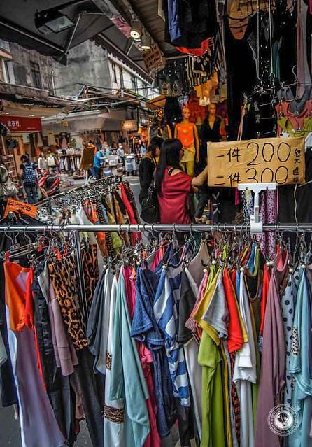 Clothes-Rack-Wufenpu-Taipei-Taiwan