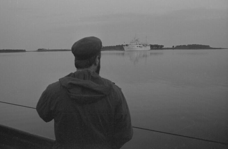 Доктор Татарский наблюдает закат на Соловках