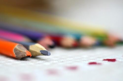 Lulustick étiquettes crayons