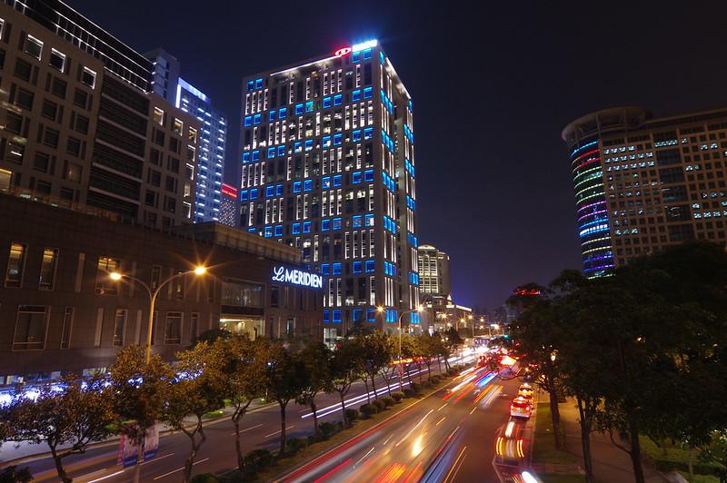 台北信義區大樓夜拍~