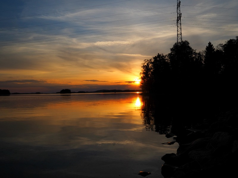 auringonlasku kuopio