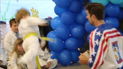 Aiden PreK Graduation ~ Karate