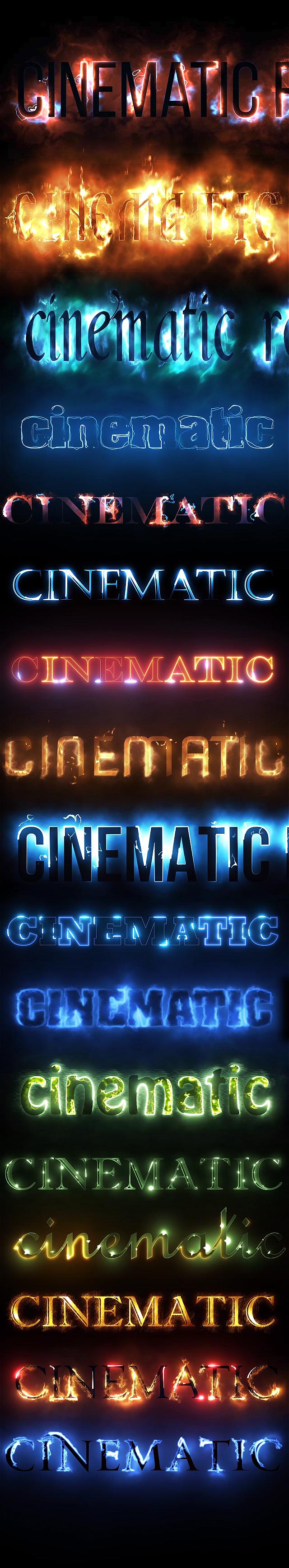 28068870951_3c229efcc3_o AE模板:火焰燃烧闪电光效电影文字标题logo展示 Cinematic Text Styles Pack