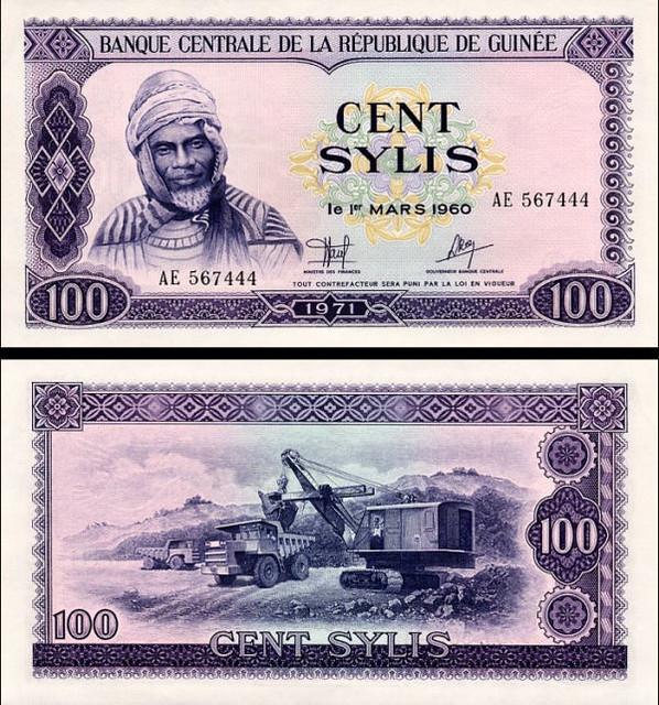 100 Sylis Guinea 1971, P19