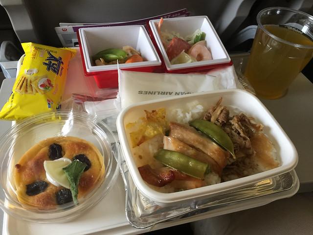 機内食 上海ー大阪