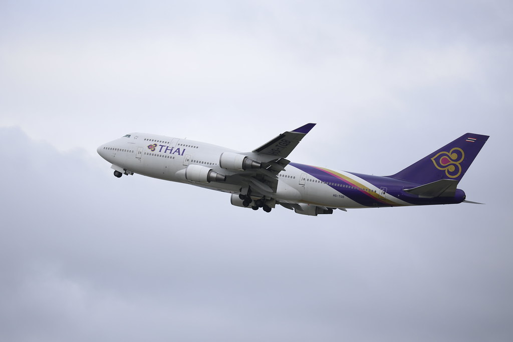 HS-TGB- Thai Airways - Boeing 747-4D7