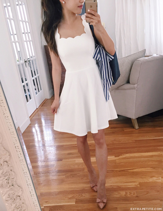modcloth white dress