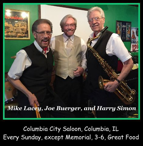 Mike Lacey, Joe Buerger, and Harry Simon 7-3-16