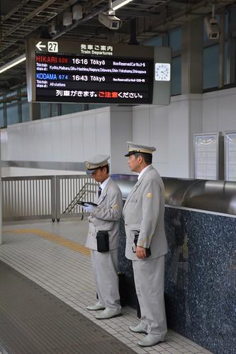 新幹線を支える人々