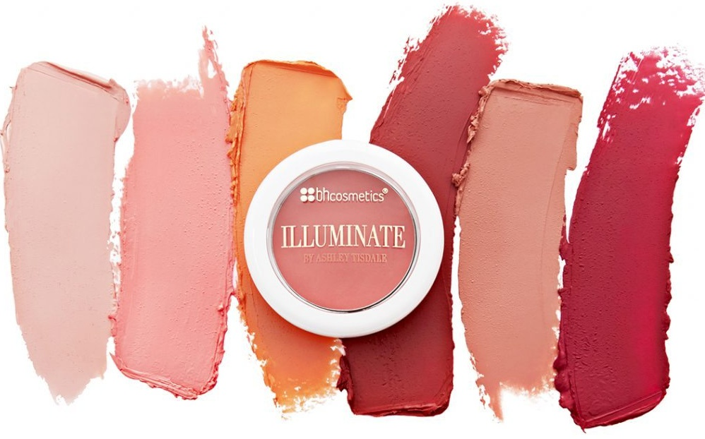 Illuminate Cosmetics Cream Lip and Cheek Tint Swatches