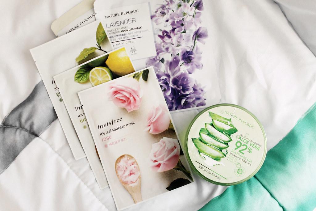 nature-republic-innisfree-sheet-masks-korean