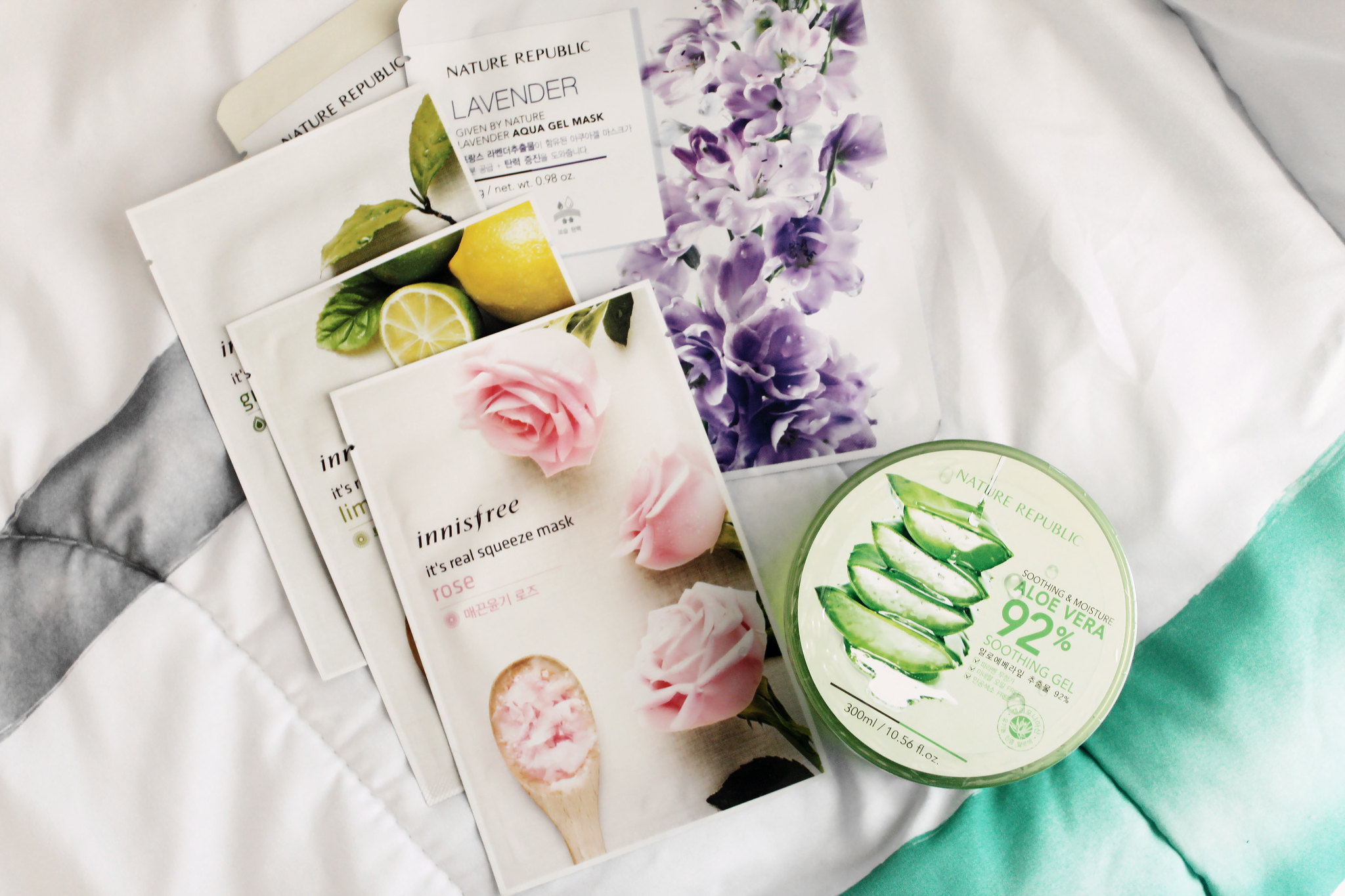 nature-republic-innisfree-sheet-masks-korean