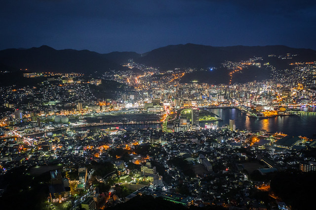 2015.Dec.Kyushu.九州.長崎.稲佐山展望台