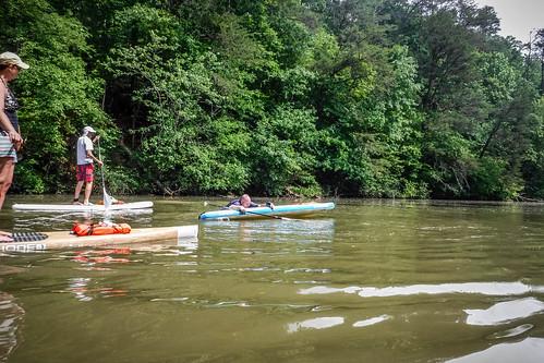 Kayaking and SUP on Saluda Lake-35