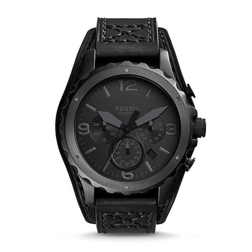 Reloj Fossil Nate Cronógrafo Cuero Hombre JR1510 1