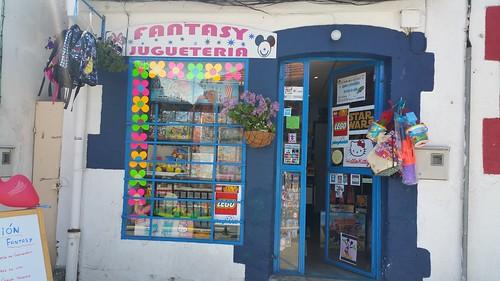 Juguetería Fantasy. San Rafael (Segovia)