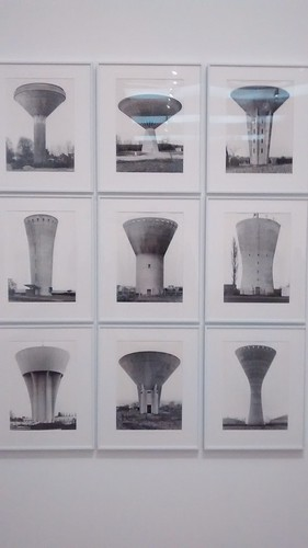 Bernd and Hilla Becher water towers June 16