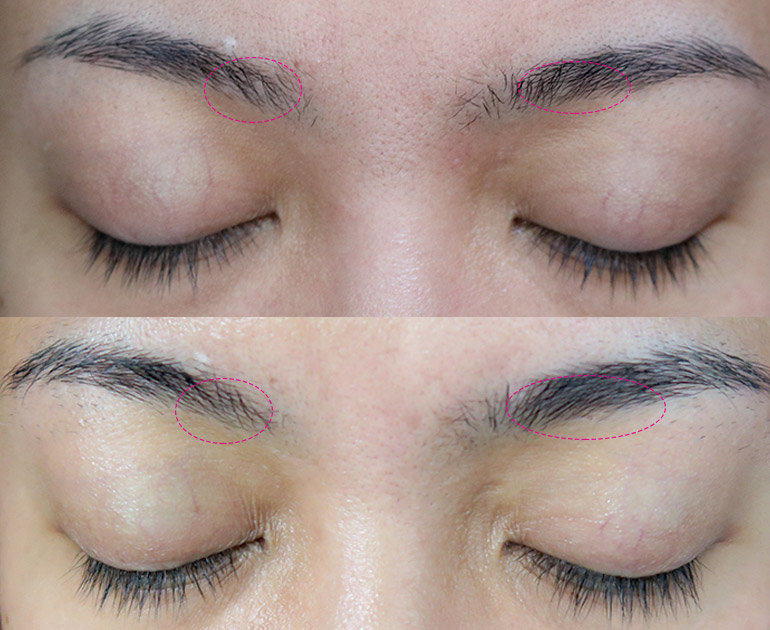 7 Measurable Difference Lash Serum Eyebrow Tint Review - Gen-zel.com (c)