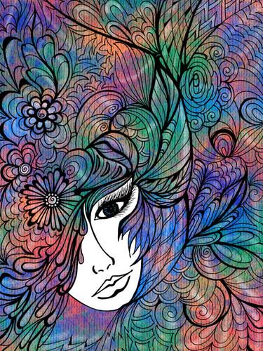 Digital colouring