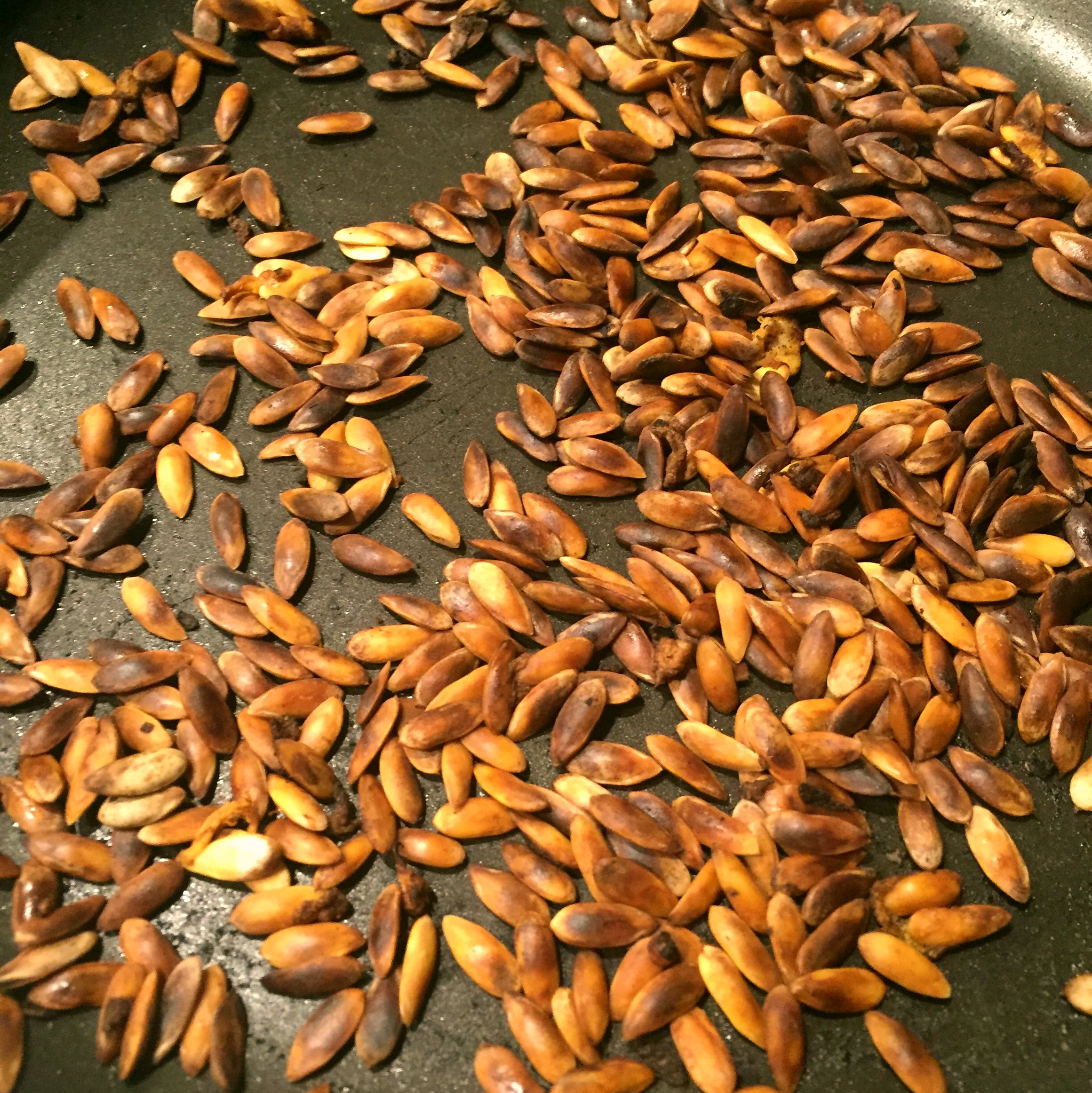 Roasted Cantaloupe Seeds