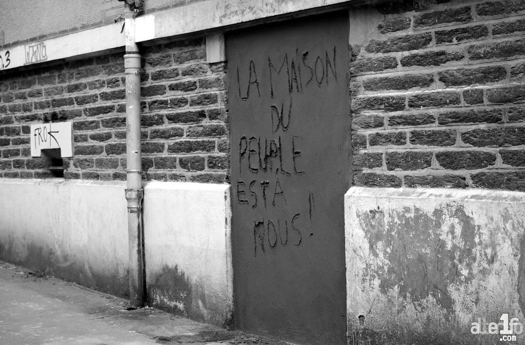 [31 Mai 2016] - Un jour, une photo... Des planches pour les banques, du ciment pour la Cité !