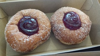 Jam Doughnuts from All-Time Coffee