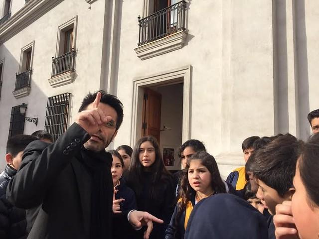 Salida Pedagógica a La Moneda y Planetario